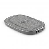 Внешний аккумулятор Moshi Porto Q 5K Portable Wireless Battery, Nordic Gray (99MO022213)