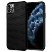 Spigen Liquid Air Case for iPhone 11 Pro Max, Matte Black (075CS27134)
