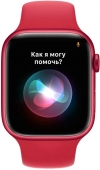 Apple Watch Series 7 41mm PRODUCT(RED) Aluminum Case with Red Sport Band MKN23UL/A