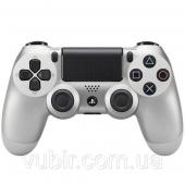 Геймпад Sony DualShock 4 (Silver)