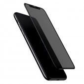 "Защитное 3D стекло ""Антишпион"" Doberman Premium Anti Peep Screen Protector 5D for iPhone 11 Pro Max/Xs Max"