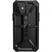 UAG Monarch Case for iPhone 12 / 12 Pro, Carbon Fiber