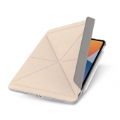 """Moshi VersaCover Case with Folding Cover for iPad Air 10.9"""" (4th gen)/Pro 11"""" (1st Gen), Savanna Beige (99MO056263)"""