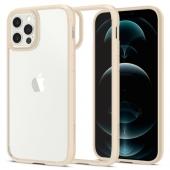 Spigen Ultra Hybrid Case for iPhone 12/12 Pro, Sand Beige (ACS02177)