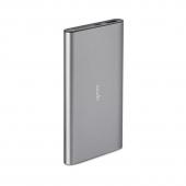 Moshi IonSlim 10K USB-C and USB Portable Battery, Titanium Gray