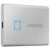SSD накопитель Samsung T7 Touch 1 TB Silver (MU-PC1T0S/WW)