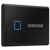 SSD накопитель Samsung T7 Touch 1 TB Black (MU-PC1T0K/WW)