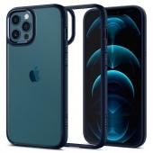 Spigen Ultra Hybrid Case for iPhone 12/12 Pro, Navy Blue (ACS02251)