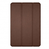 Macally Protective Case and Stand Brown for iPad 10.2, Brown (BSTAND7-BR)