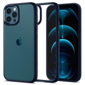 Spigen Ultra Hybrid Case for iPhone 12 Pro Max, Navy Blue (ACS02248)