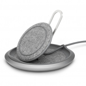 Moshi Lounge Q Wireless Charging Stand, Nordic Gray (99MO022218)