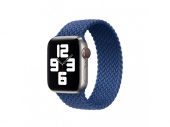 Apple Braided Solo Loop Size 7 for Watch 40/38mm,  Atlantic Blue (MY722)