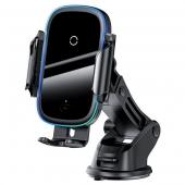 Автодержатель Baseus Wireless Charger Light Electric 15W (WXHW03-01)