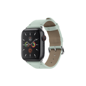 Native Union Classic Strap for Apple Watch 42mm/44mm, Sage (STRAP-AW-L-GRN)