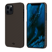 Pitaka MagEZ Case for iPhone 12 Pro, Twill Black/Rose Gold (KI1206P)