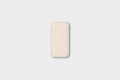 Внешний аккумулятор Courant Carry PD Wireless Powerbank 8 000 mAh Bone (CR-CA-WH-SL)