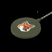Native Union Maison Kitsune Drop Wireless Charger Fabric Green (DROP-GRN-FB-MK)