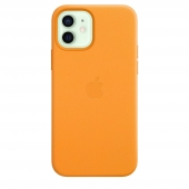 Apple Leather Case with MagSafe 12/12 Pro California Poppy (MHKC3)