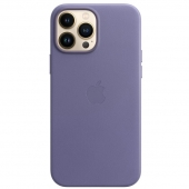Apple Leather Case with MagSafe for iPhone 13 Pro Max, Wisteria (MM1P3)