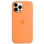 Apple Silicone Case with MagSafe for iPhone 13 Pro Max, Marigold (MM2M3)