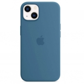 Apple Silicone Case with MagSafe for iPhone 13, Blue Jay (MM273)
