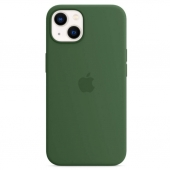 Apple Silicone Case with MagSafe for iPhone 13, Clover (MM263)