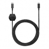 Native Union Desk 2.4m Cable USB-C to USB-C, Cosmos Black (DCABLE-C-CS-BLK-NP)