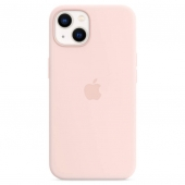 Apple Silicone Case with MagSafe for iPhone 13, Chalk Pink (MM283)