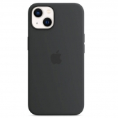 Apple Silicone Case with MagSafe for iPhone 13, Midnight (MM2A3)