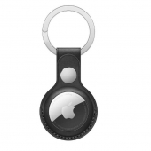 Apple Leather Key Ring for AirTag, Black OEM