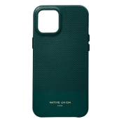 Native Union Clic Heritage Case for iPhone 12 Pro Max, Sapin (CHRTG-DRGRN-NP20L)