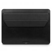 "Moshi Muse 13"" 3-in-1 Slim Laptop Sleeve for MacBook Pro 13""/MacBook Air 13"" Retina, Jet Black (99MO034008)"