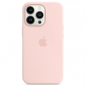 Apple Silicone Case with MagSafe for iPhone 13 Pro, Chalk Pink (MM2H3)