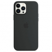 Apple Silicone Case with MagSafe for iPhone 13 Pro Max, Midnight (MM2U3)