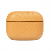 Native Union Heritage Case for Airpods Pro, Ocre (APPRO-HRTG-YLW)