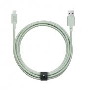 Native Union Belt 3m Cable XL Lightning, Sage (BELT-L-GRN-3-NP)