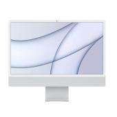 """Apple iMac M1 24"""" 4.5K 256GB 8GPU Silver (Z12Q0006S) 2021"""