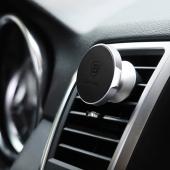 Магнитный автомобильный держатель Baseus Small Ears Series Magnetic Car Air Vent Mount Black