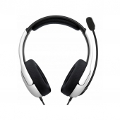 Гарнитура PDP Gaming LVL40 Wired Stereo Gaming Headset для консоли PS4/PS5 White