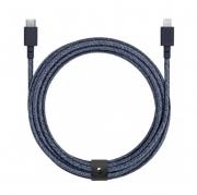 Native Union Belt 3m Cable XL USB-C to Lightning, Indigo (BELT-CL-IND-3-NP)