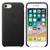 Apple Leather Case for iPhone 7/8/SE 2, Black (MMY52/MQH92/MXYM2)