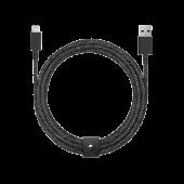 Native Union Belt 3m Cable XL Lightning, Cosmos Black (BELT-L-CS-BLK-3-NP)