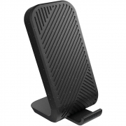 Zens Modular Stand Wireless Charger with Wall Charger, Black (ZEMSC2P/00)